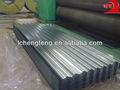 sgcc ondulado telhados de zinco galvanizado para telhados folha