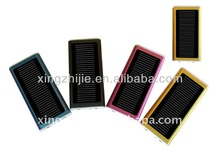 1300MA portable mobile phone solar charger battery case