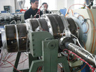 PVC wire duct machine (single-wall corrugated pipe)