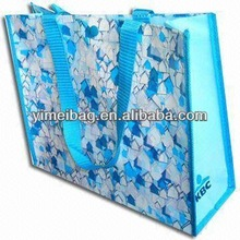 2013 factory selling outdoor christmas train high quality pp woven shopping bag