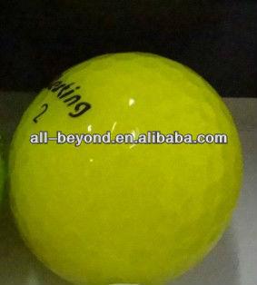 Yellow Golf t ball