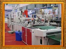 2012 CHOVYPLAS heat sealing heat cutting bag making machinery