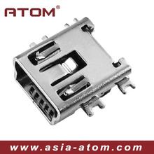 mini usb connector female 5pin