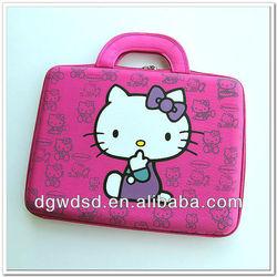 2012 Dongguan Hello Kitty Pattern EVA Laptop Case/Bag