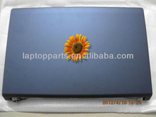 "Laptop A Shell For Dell Studio 1555 1557 1558 15.6"" Notebook Left&Right Hinges Blue - W395J"