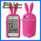 Dongguan silicone stand case for iphone 4