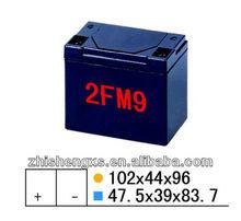 Maintain-free battery accumulator box