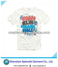 white lovely popular summer printed children t shirts