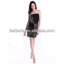 One shoulder beaded Bandage Dress 2012 party dress for women