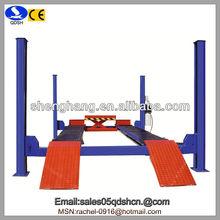 5000kgs 1850mm QDSH-F5000A Hydraulic Four Post Car Lift/Auto Lifting Equipment/Portable Car Ramp/Used Car Hoist