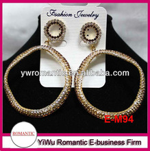 hot sale gold earrings new model 2012