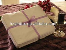 Hot selling high quality plain color flat sheets