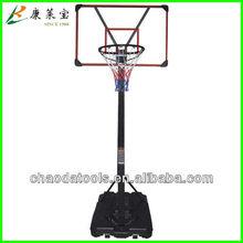 Portable Basketball System with Acrylic Backboard