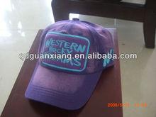 2012 fashion style cotton embroidered baseball cap