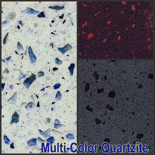Quartz surface with Platinum/Zircon