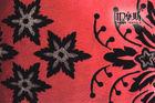 floral flocked sofa fabric
