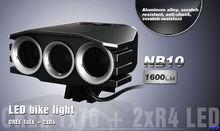 1600lumen power beam light head mount