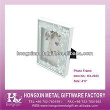 Fashion handicraft gifts glass photo frame HX-2023