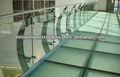 estructural de vidrio laminado de piso por paneles de vidrio plano