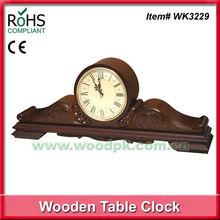 70x28 cm Imperial antique mantel clocks with decorative carve