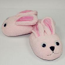 2012 hot sale kids plush indoor animal slippers