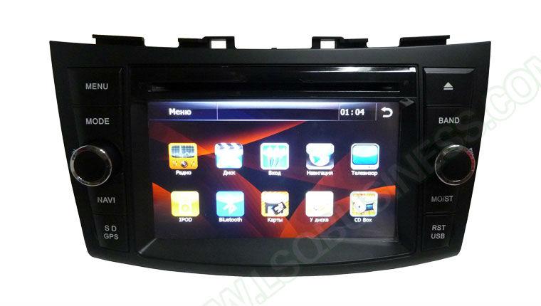 lsqstar 7 inch car audio for SUZUKI swift 2011 2012