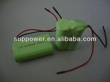 AA 2S 2.4v 1500mah nimh battery with plug wholesale RC car nimh battery 2.4v 1500mAh Continuous