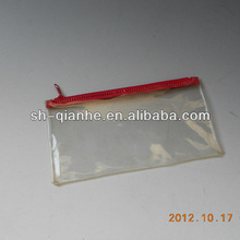 PVC soft bag pen packaging zipper bag
