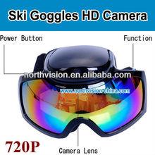 NC-028 720P outdoor skiing goggles sports camera