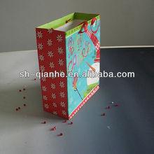 Christmas gift packaging paper drawstring bags