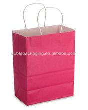 Paper shopping Bag Hot Pink