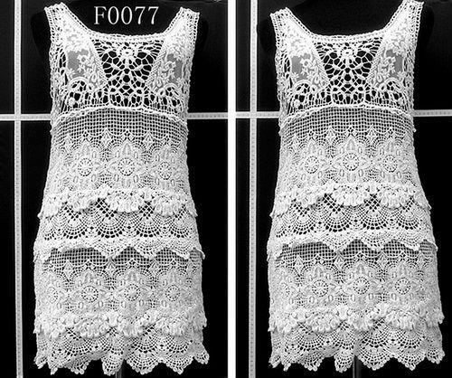 Diseños de lujo chalecos tejido a ganchillo los propietarios de ...