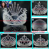 Big pageant peacock crowns.pageant tall crowns for sale. large tiara crowns
