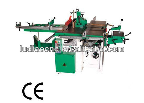 Details: Combination woodworking machine / combined woodworking