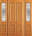 Novo design de madeira porta