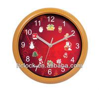 Christamas music wall Clock