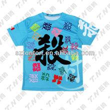 Custom sublimated fashion t-shirt factory
