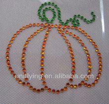 pumpkin for holiday hotfix motifs design