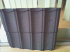 flat metal roof tile