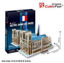 3D Puzzle Notre Dame De Paris domino tables for sale