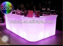 LED bar table/ lit bar