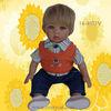 14-Zoll-Vinylwirkliches Gefühlbaby - Puppe