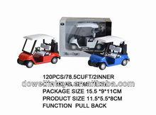 Selling diecast model: pull back diecast golf car model