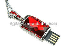 2013 new design usb flash driver usb key crystal usb