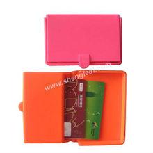 Promotion novelty design silicone card case