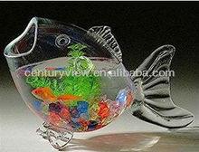 home decor high quality glass material unique aquarium fish tank