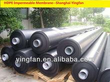Black HDPE geomembrane Liner Sheet