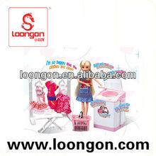 loongon little girl love doll Fashion Doll Set american girl doll
