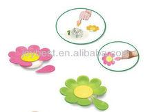 8pcs set Fashion Fruit fork in flower design