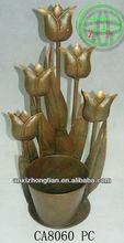 antique iron flower garden pot stands